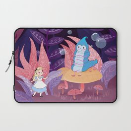 Alice In Wonderland and The Caterpillar Laptop Sleeve