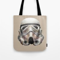 stormtrooper Tote Bags featuring Stormtrooper by beart24