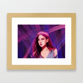 BLACKPINK Rosé Framed Art Print