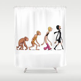 Évolution Shower Curtain