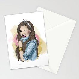 Demetria Lovato Stationery Cards