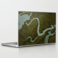 looking for alaska Laptop & iPad Skins featuring Alaska Streams by Andy Barron
