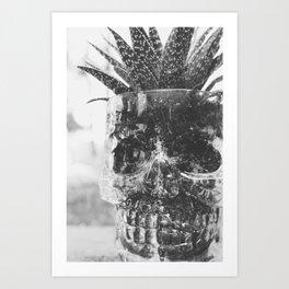 Spooky Succulent Art Print