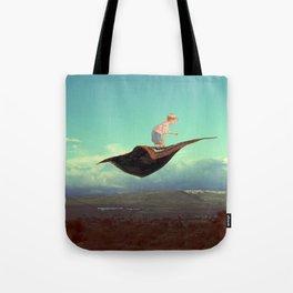Volando Bajo Tote Bag