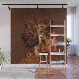 "Giuseppe Arcimboldo ""Four elements - Air"" Wall Mural"