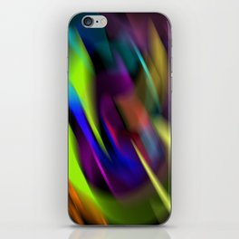 lost in colours iPhone Skin