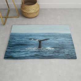 Whale tail - Hamptons Style Rug