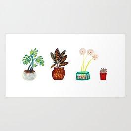 Home Garden Art Print