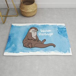 Otter, the Water Sausage Rug