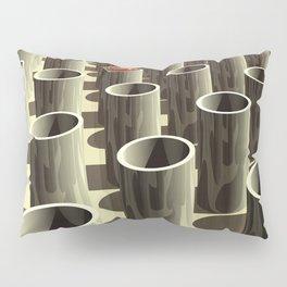 Stockyard of Cylinders Pillow Sham