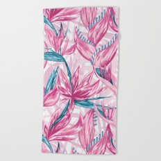 Paradise garden Beach Towel