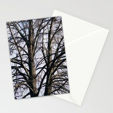 Stained Glass Tree Stationery Cards