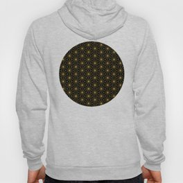 Asanoha -Gold & Black- Hoody
