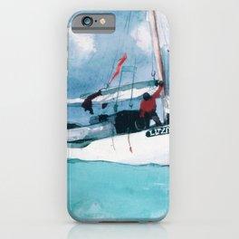 12,000pixel-500dpi - Winslow Homer1 - Fishing Boats, Key West - Digital Remastered Edition iPhone Case