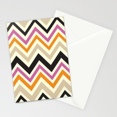 August Chevron Stationery Cards