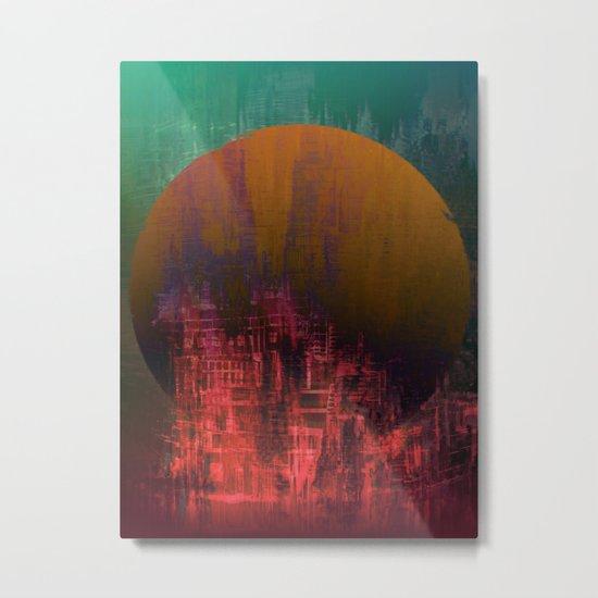 Fantastic Planet / Urban Fantasy Metal Print