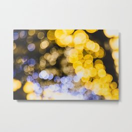Magic lights Metal Print