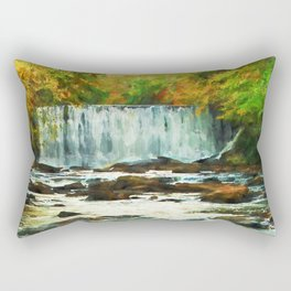 Autumns Chill Rectangular Pillow