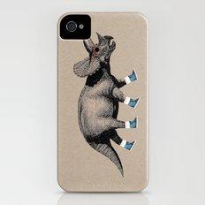 Triceratops iPhone (4, 4s) Slim Case