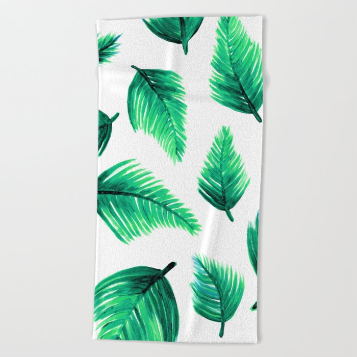 minimalist pattern Beach Towel