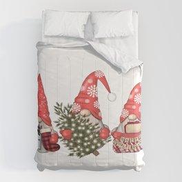 Christmas Gnome Comforters