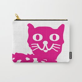 Magenta cat, cat pattern, cat design Carry-All Pouch