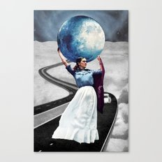 Obligatory Frida - PAINTING Canvas Print