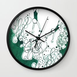 Divers Wall Clock
