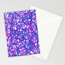 Lines and Shadows Stationery Cards