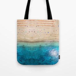 AERIAL. Summer beach Tote Bag