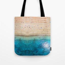 AERIAL. Summer beach Tote Bag