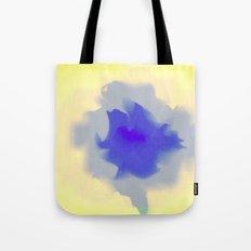 Unfurled Yellow Tote Bag