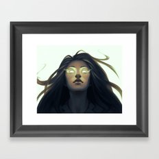 Precognition Framed Art Print