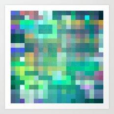 Pixel 2 Art Print