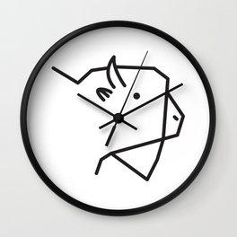 Minimalist American Buffalo Wall Clock