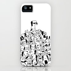 Pupper Pile Slim Case iPhone (5, 5s)
