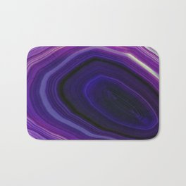 Swirled Purple Geode Bath Mat