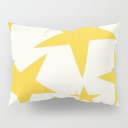 yellow stars Pillow Sham