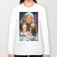 runner Long Sleeve T-shirts featuring Blade runner by calibos