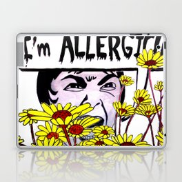 Allergic Janet Laptop & iPad Skin