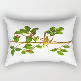 Tennessee Warbler Bird Rectangular Pillow