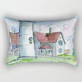 Nobska Lighthouse Rectangular Pillow
