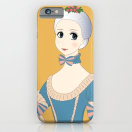 Young Marie Antoinette - Vintage Manga Style iPhone Case