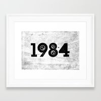 1984 Framed Art Prints featuring 1984 by ayarti