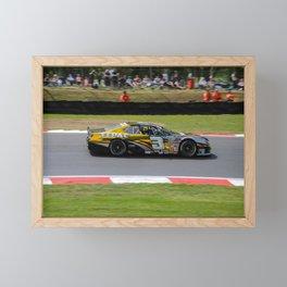 brands hatch racing Framed Mini Art Print