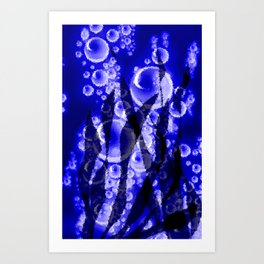 Luftblasen.  Art Print