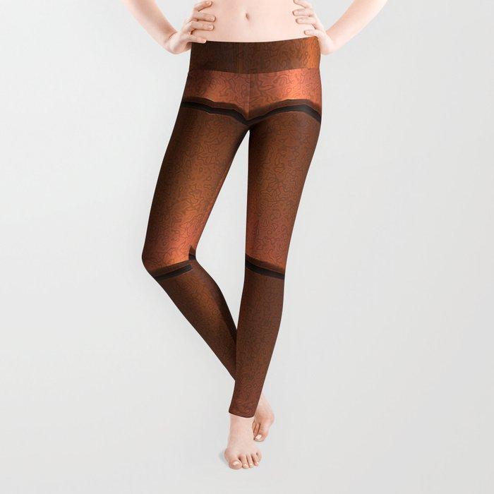 copper work Leggings