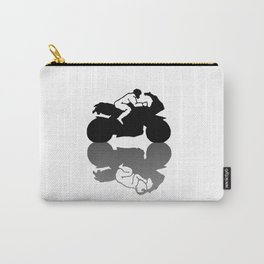 Racing Through Time Carry-All Pouch