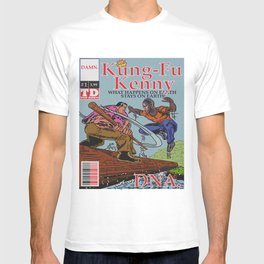 Kung Fu Kenny Comic Book #1 DNA T-shirt