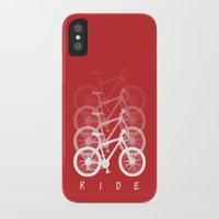 bikes iPhone & iPod Cases featuring Bikes by ClicheZero